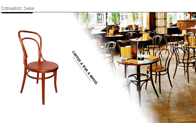application of thonet chair
