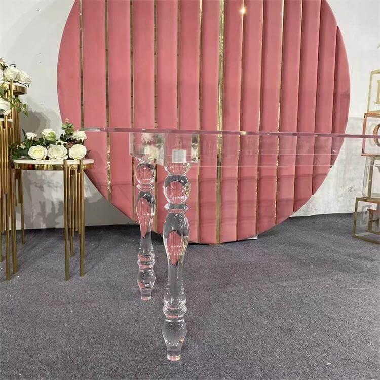 Clear Acrylic table factory