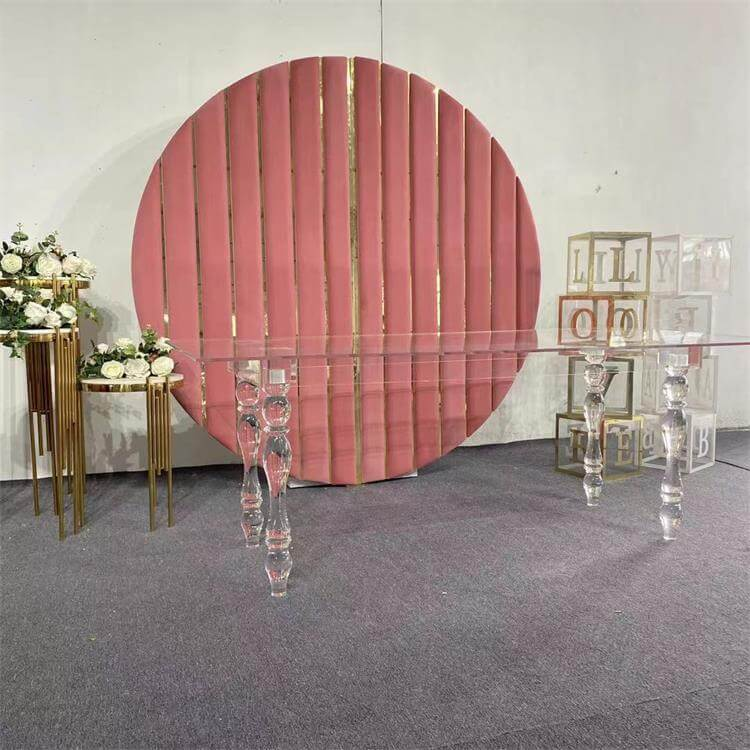 Clear Acrylic table supplier