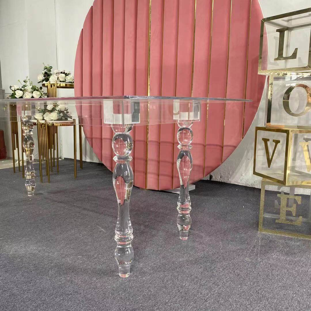 Clear Acrylic table manufacturer