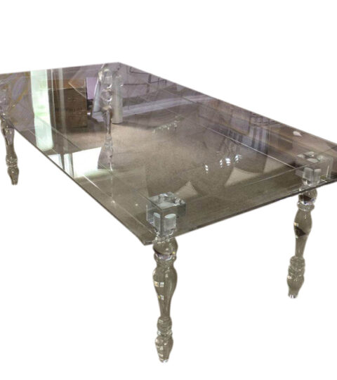 Acrylic Rectangle Dining Table