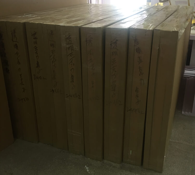 acrylic table package