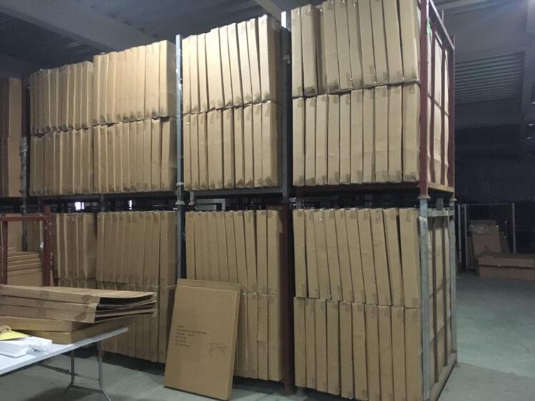 plastic long rectangular table