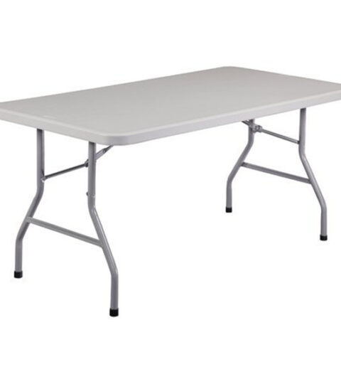 Plastic Long Rectangle Table
