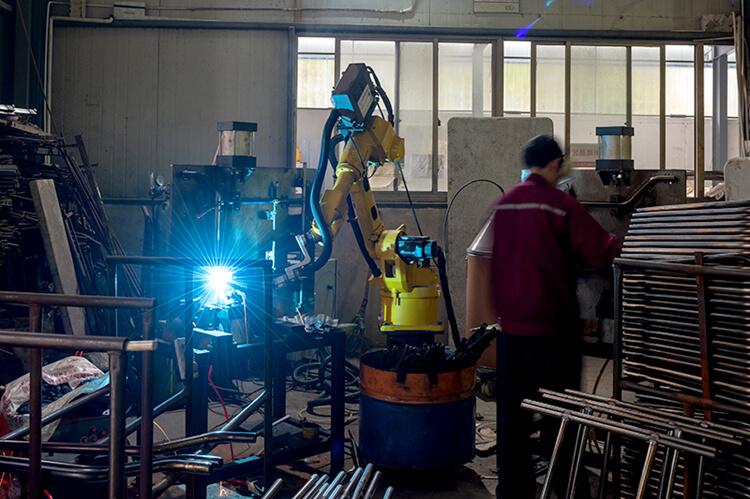 plastic round banquet table welding work