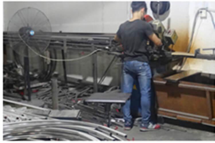 steel chair manufacturer