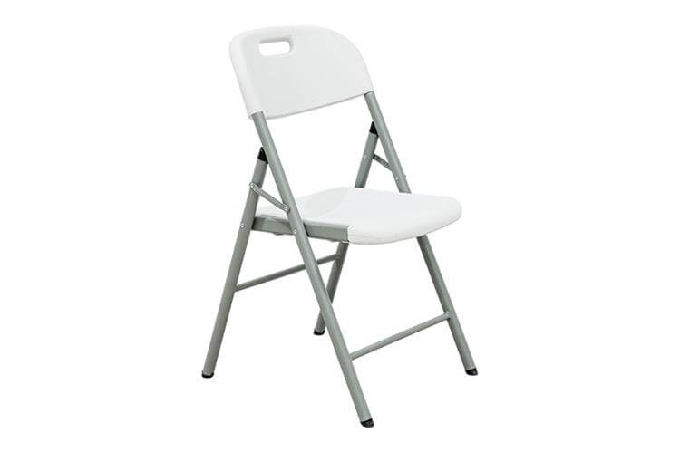 white folding chairs supplier