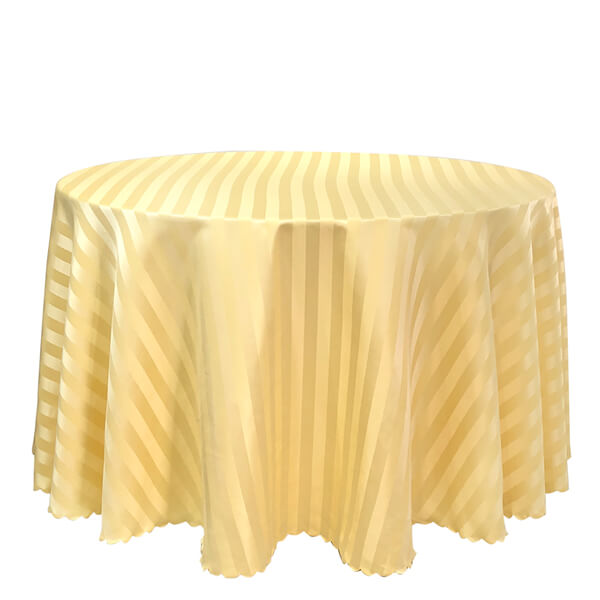 yellow table covers