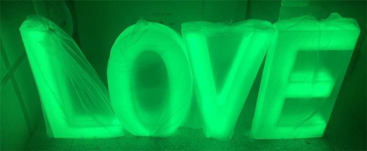 Glow alphabet factory