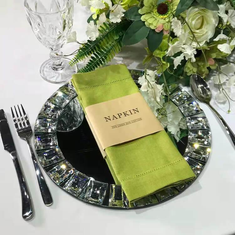 green napkin factory