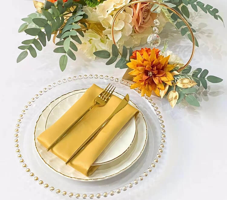 yellow napkin supplier