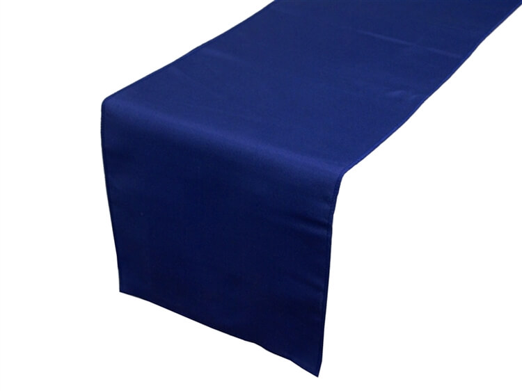 blue table runners