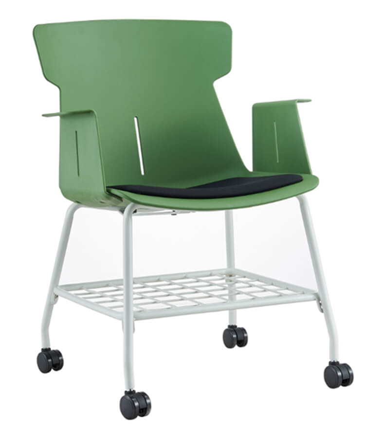 Plastic Resin Cafe Stackable Dining Chair factory