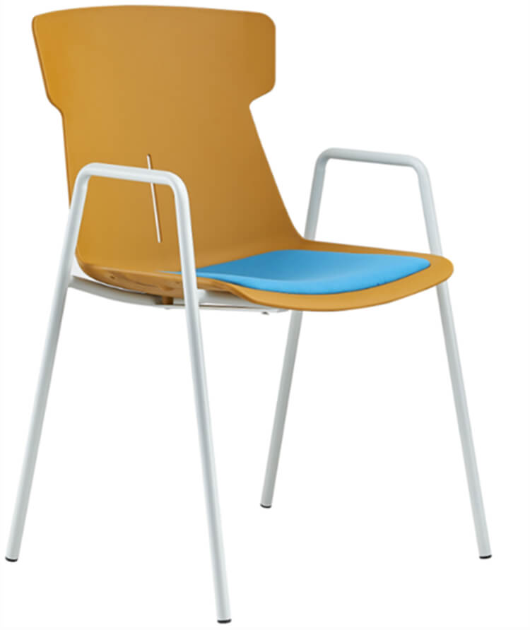 Resin Cafe Stackable Chair factory