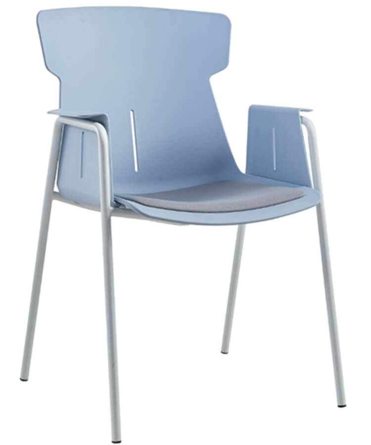 Resin Cafe Stackable Chair wholesale