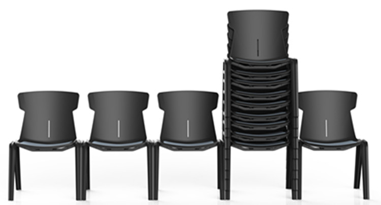 Resin Cafe Stackable Chair