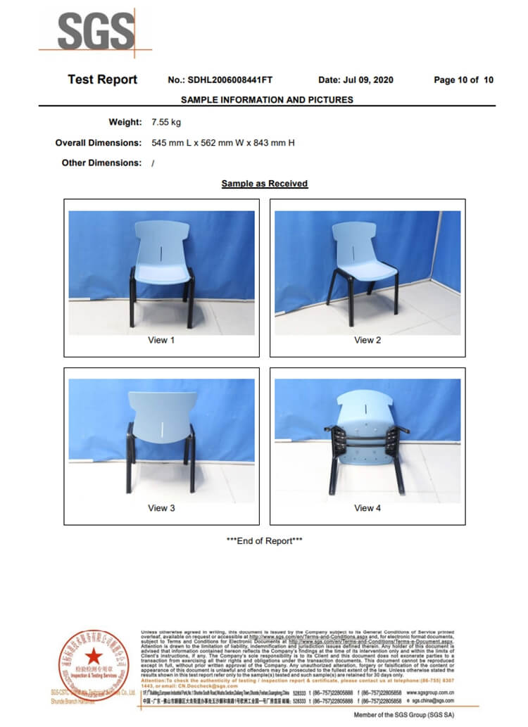 stackable plastic dining chair manufacturer