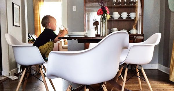 Adults and children dining chair