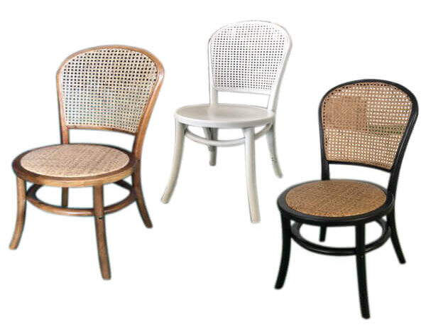 vine back dining chair