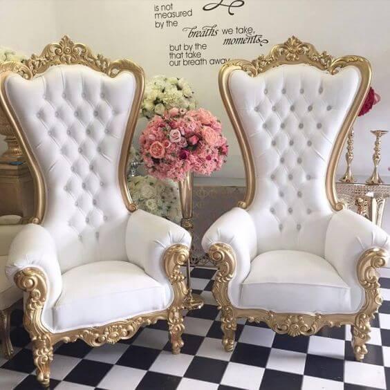 royal chair applications