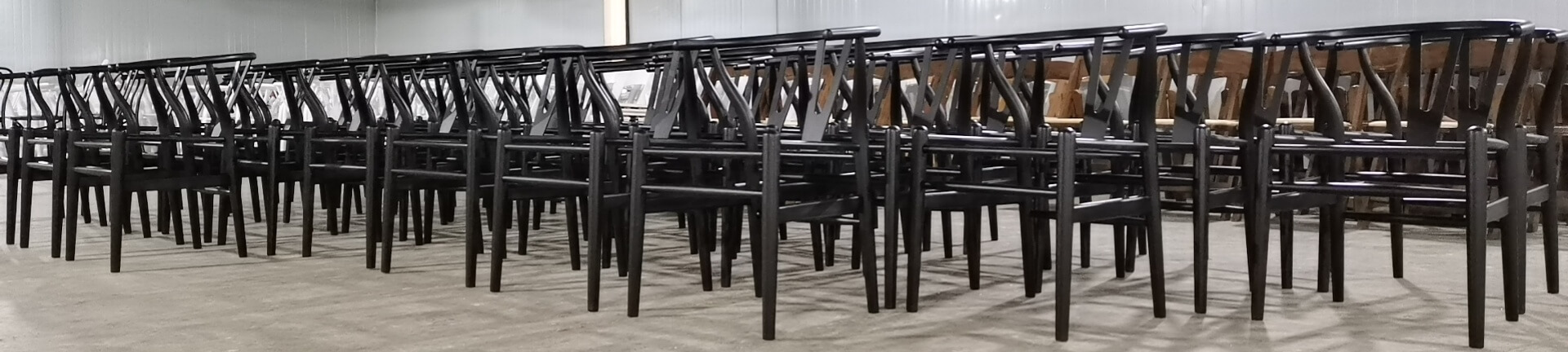 painting works for black dining chairs
