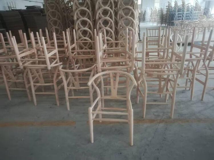 wishbone arm chair
