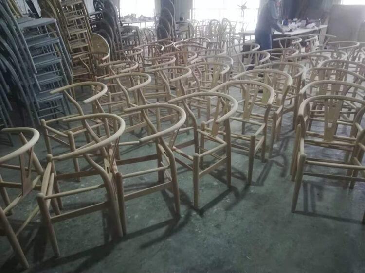 wishbone chair natural