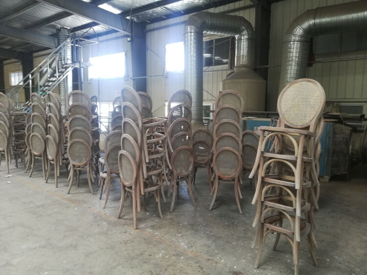 cane back dining chair factory