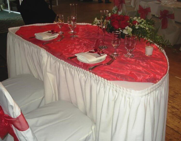 tablecloth for wedding chairs