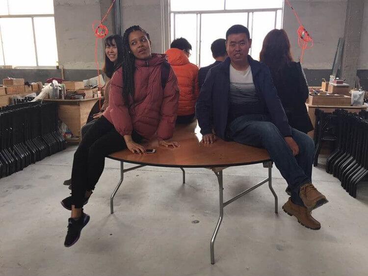 wedding chair factory