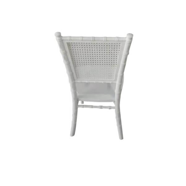 square back chiavari chair