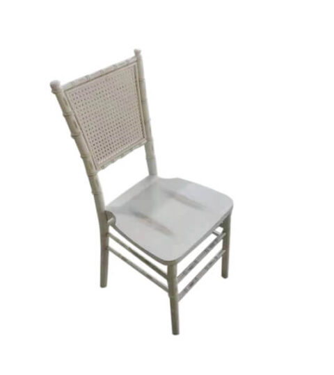Square Rattan Back Chiavari Chair