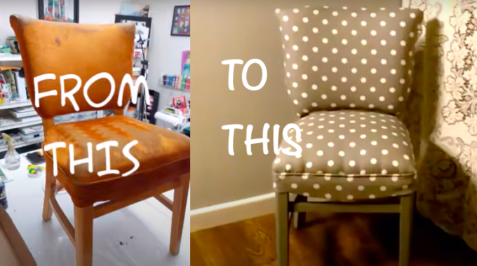 How To Reupholster A Chair-Step By Step Guide