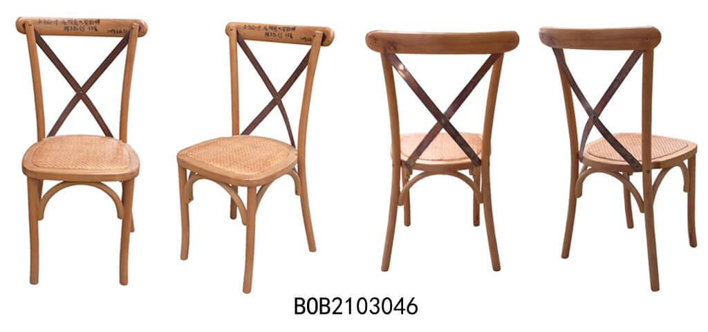 cross back chairs color