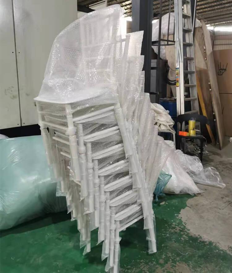 plastic chiavari chair stackable
