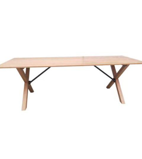 Cross Leg Folding Table