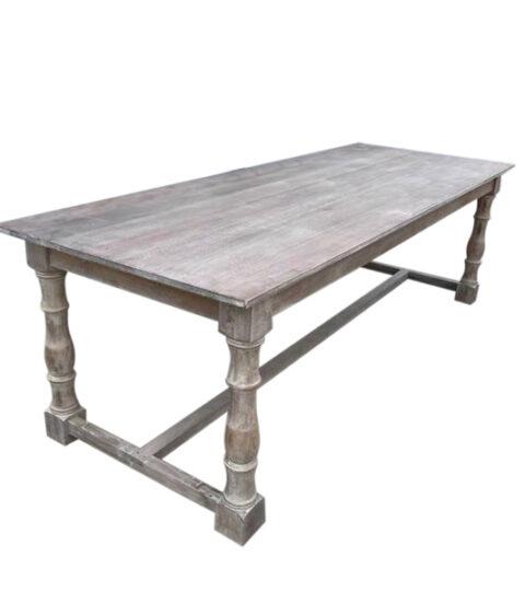 Vintage Wood Farmhouse Table