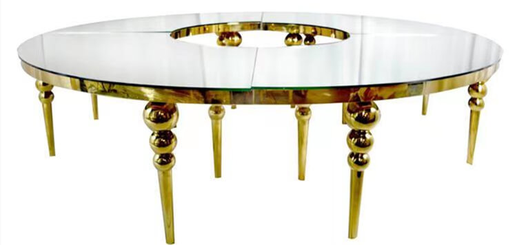 gold sepentine table manufacturer