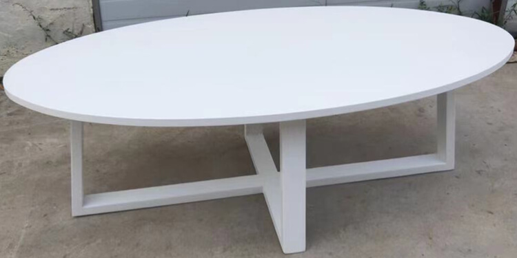 round to oval dining table supplier