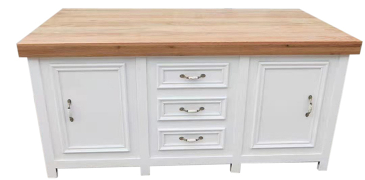white buffet table supplier