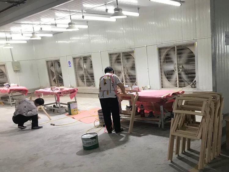 rattan folding chair factory
