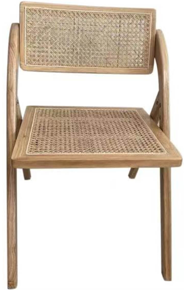 rattan folding chairs manufacturer