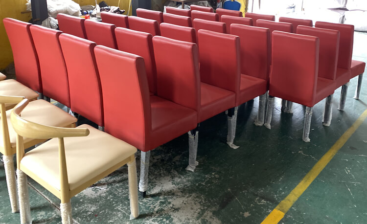 red dining chair supplier
