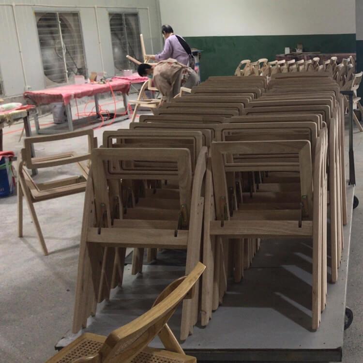 wooden rattan dining chair manufacturer