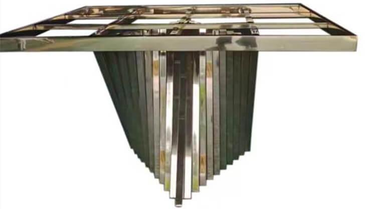 stainless steel wedding table bulk