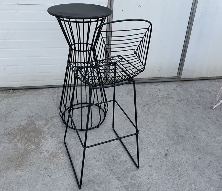 wire bar chair factory
