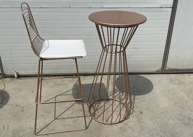 wire bar table manufacturer