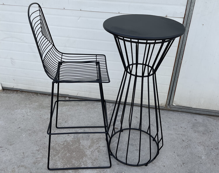 wire bar table