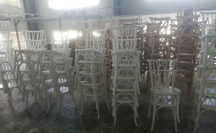 wooden willow dining chair supplier