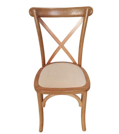 Fireproof Cushion Crossback Chair